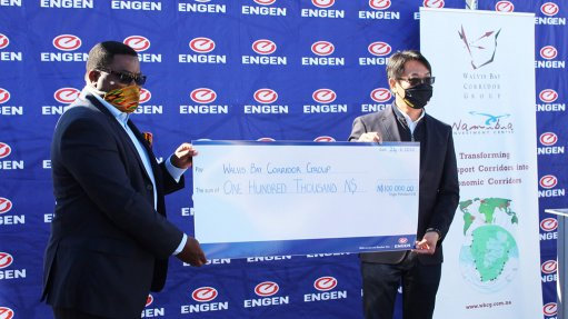 Engen Namibia sponsors fuel to aid COVID-19 screenings
