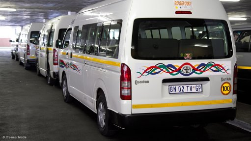 Taxi assistance approved in principle, says TAG's Van der Merwe