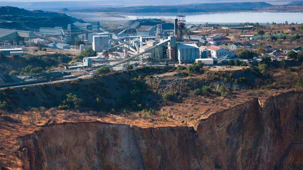 Petra Diamonds' Cullinan mine, in South Africa