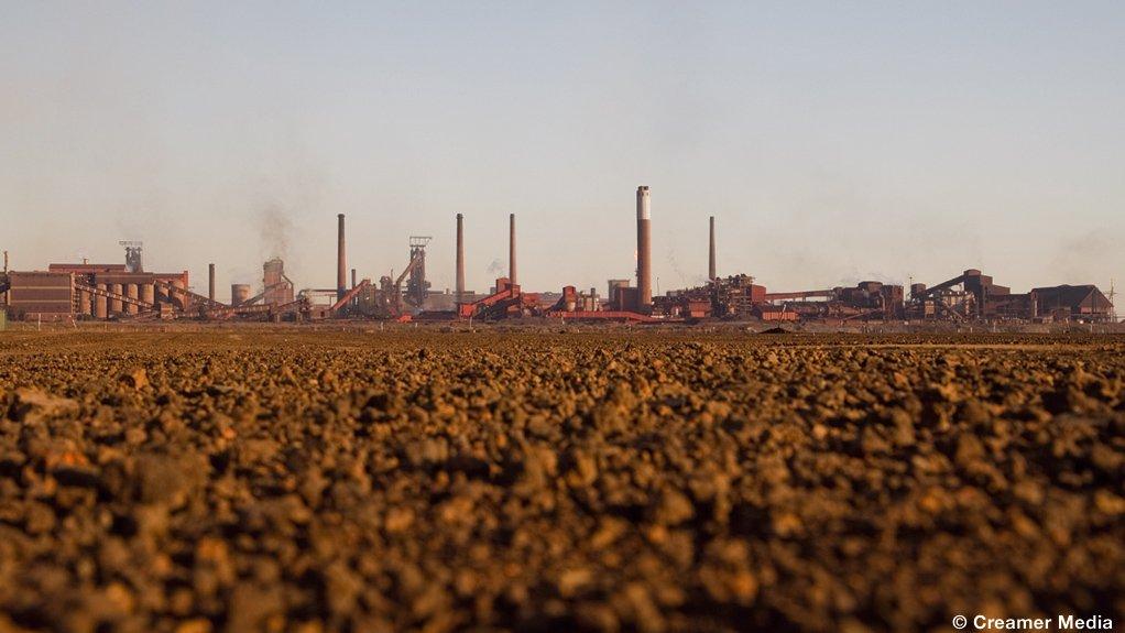 AMSA's Vanderbijlpark mill, in Gauteng