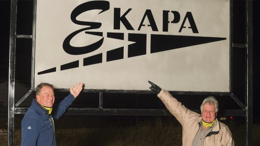 Ekapa changes name, donates face masks