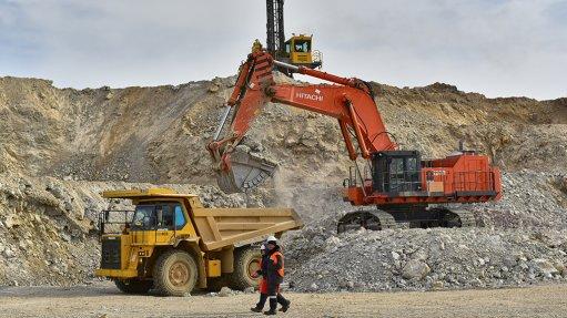 Svetloye mine, Russia