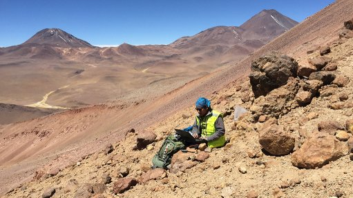 Chile-based mining company EMSA uses Getac fully rugged tablet F110 to help complete challenging exploration and mining operations in harsh desert environments