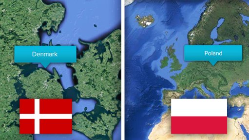 Baltic Pipe project, Denmark and Poland