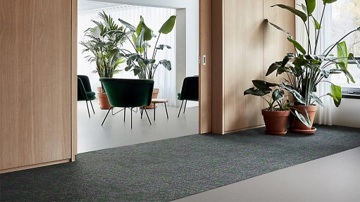Interface increases recycled content in its flooring products