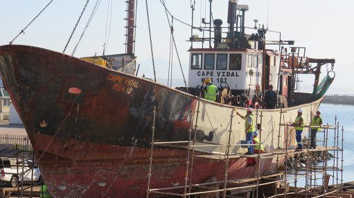 Mossel Bay ship repair generating jobs