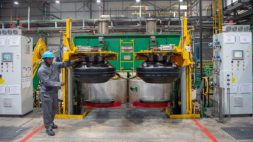 REBOUNDING DEMAND Demand for Sumitomo Dunlop's tyres is increasing since the restrictions of lockdown have eased