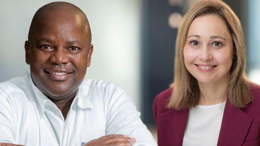 July Ndlovu and Michelle Manook.