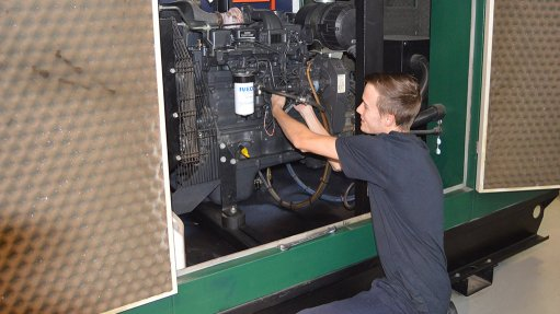 Maintenance of diesel gensets highlighted
