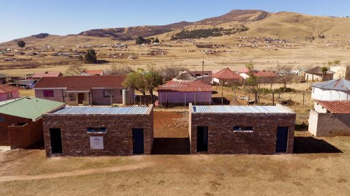 Engen builds brand new bathrooms at Langalakhe High School