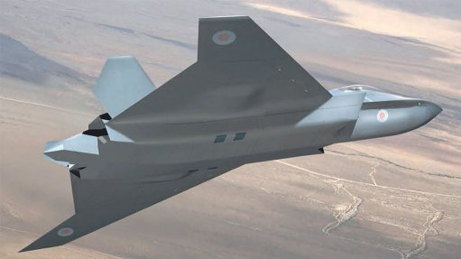 An artist's impression of what a fighter developed using Team tempest technologies might look like.