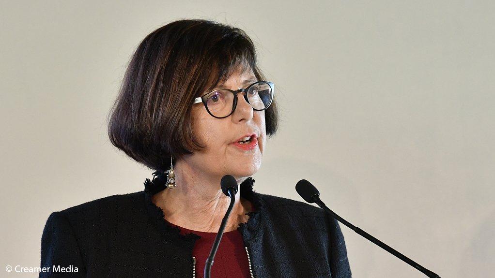 Environment, Forestry and Fisheries Minister Barbara Creecy