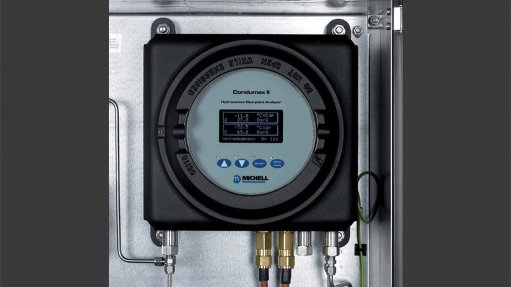 The Condumax II On-Line hydrocarbon dew point analyser