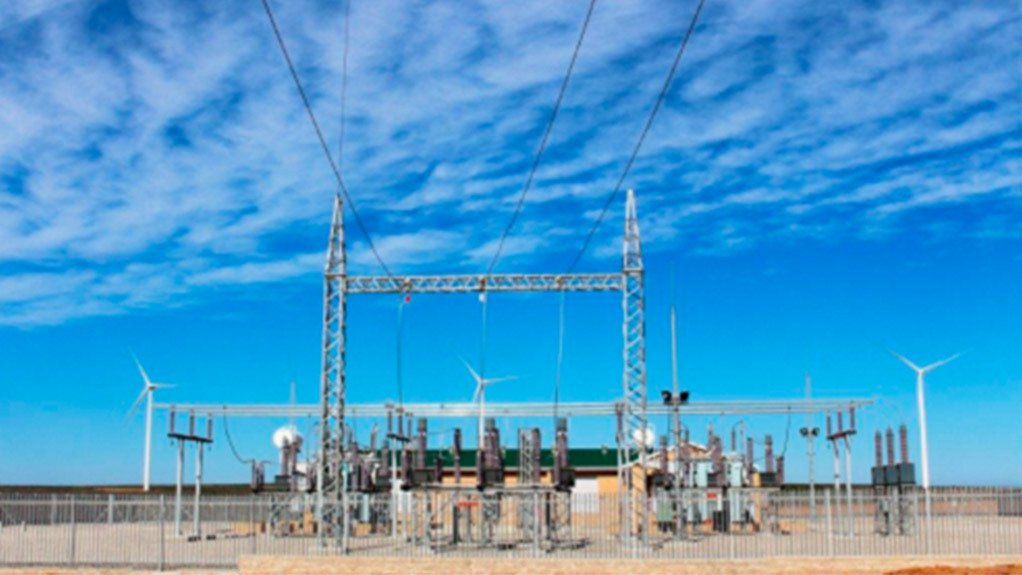 The substation at the Sere wind farm in Vredendal