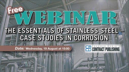 Free Webinar – Stainless Steel:  Case Studies in Corrosion
