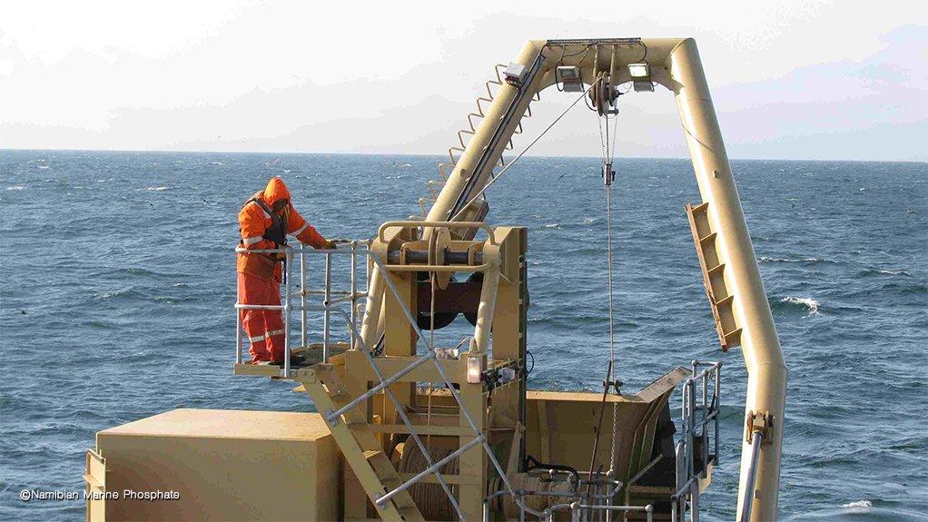 Namibian Marine Phosphate vessel