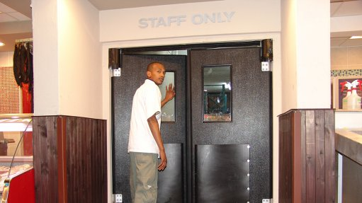 Insulated traffic door makes an impact