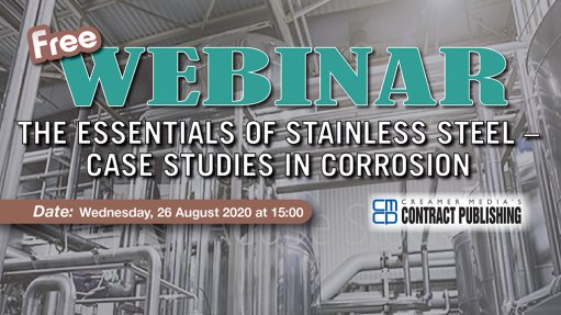 Free Webinar – Stainless Steel:  Case Studies in Corrosion