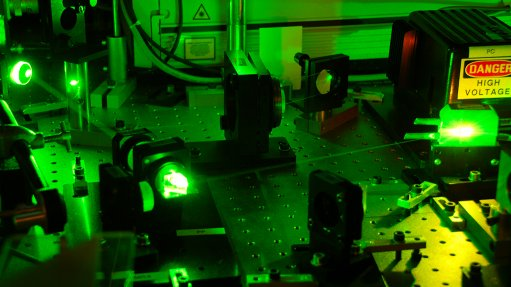 PRIVATE PARTICIPATION Getting private-sector companies to fund laser research and development at local universities is expected to change the landscape dramatically