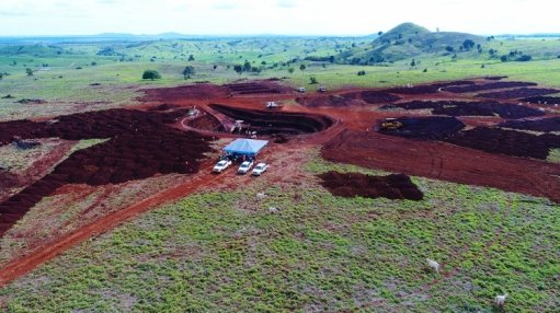 Trial mining at Araguaia, Brazil.