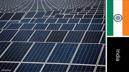 Rajasthan solar power project, India