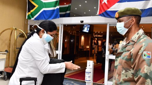 Arrival of Cuban medical team seminal moment between S Africa, Cuba –  Mkhize