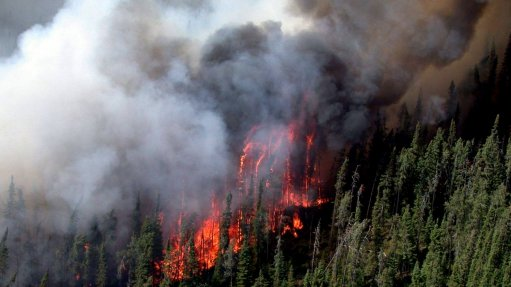 Red Lake fire under control, mining activities resume