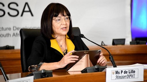 PPP legislation being reviewed to 'make it more workable', says De Lille