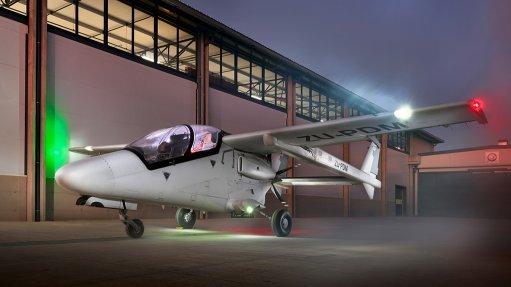 An Ahrlac aircraft