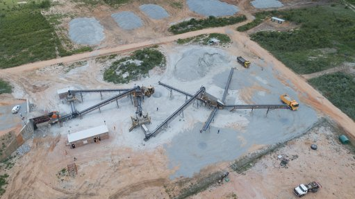 GAINING MOMENTUM  The number of Astec-manufactured machines operating successfully in the aggregate and mining space in Zimbabwe is also building customer confidence
