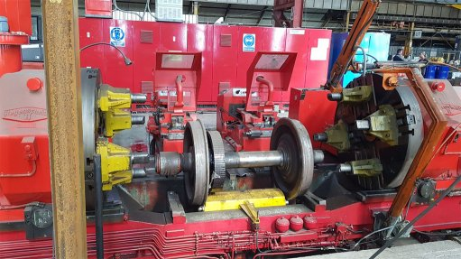 WHEELSHOP REDRESS Bakara was appointed by PRASA in November last year to repair railway wheels, but a technical assessment of its wheelshop was required before the company could start production