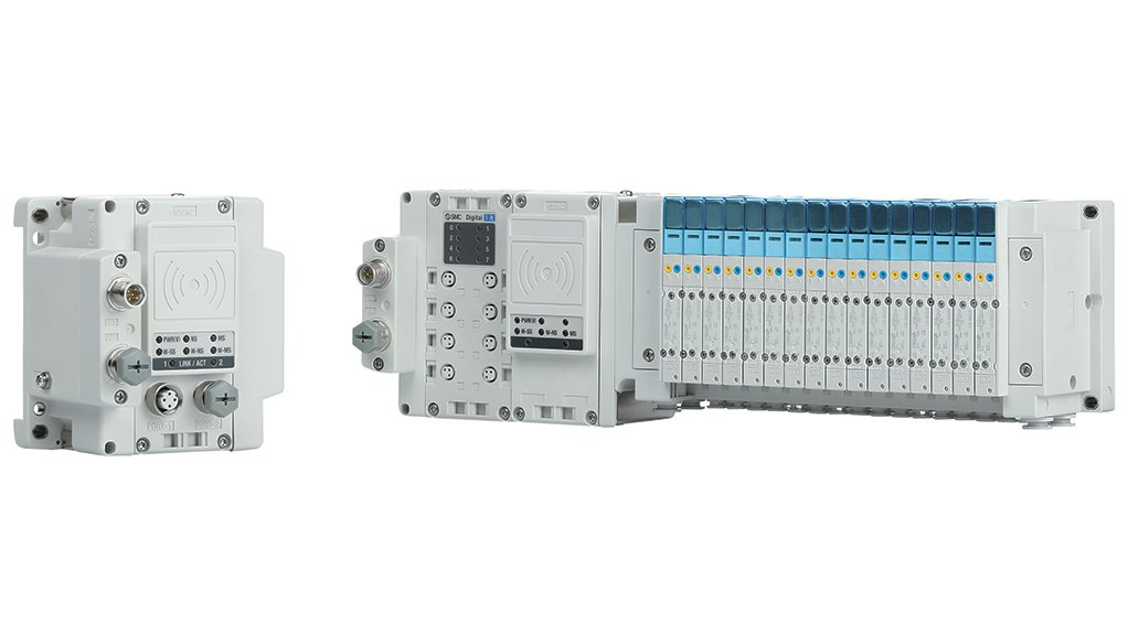 TIME AND MONEY The EX600-W wireless valve bank module is designed to reduce downtime and costs