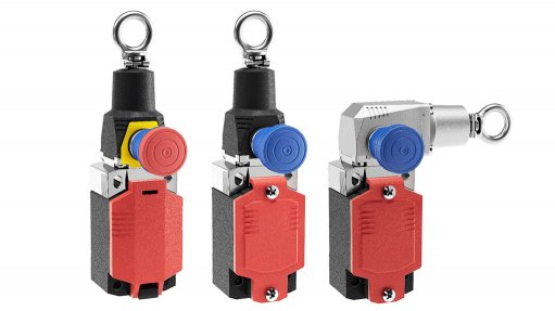 Safety Rope (SRO) limit switch – the emergency stop button from Bernstein