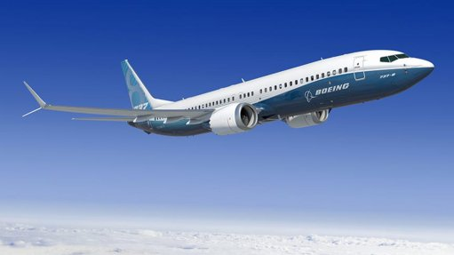 A Boeing 737 MAX 8, now apparently being called a 737-8