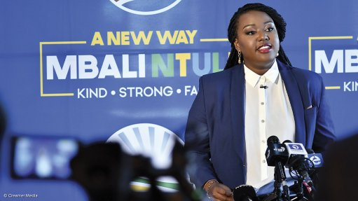 DA's Mbali Ntuli unpacks her agenda ahead of the party's federal conference