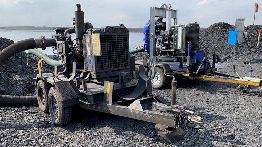 Mobile pumps prove useful in opencast mining