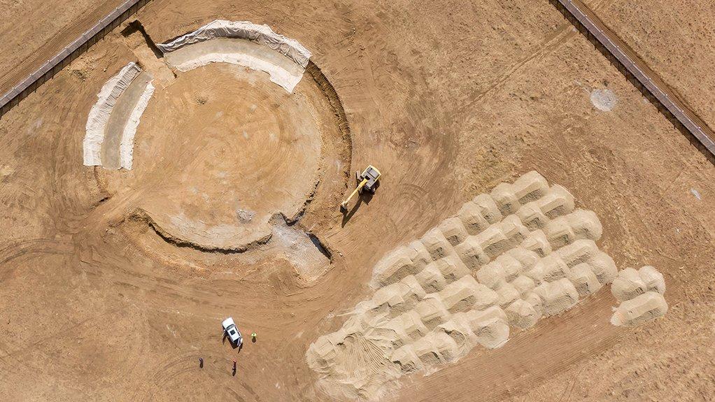 Bulk infrastructure works start at the Tambo Springs Logistics Gateway