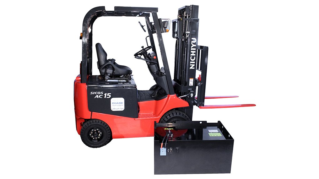POSITIVE MARKET IMPACT  CHASE Technologies' is looking to convert 50% of the current local electric forklift market from lead-acid batteries to LiFePO4 batteries