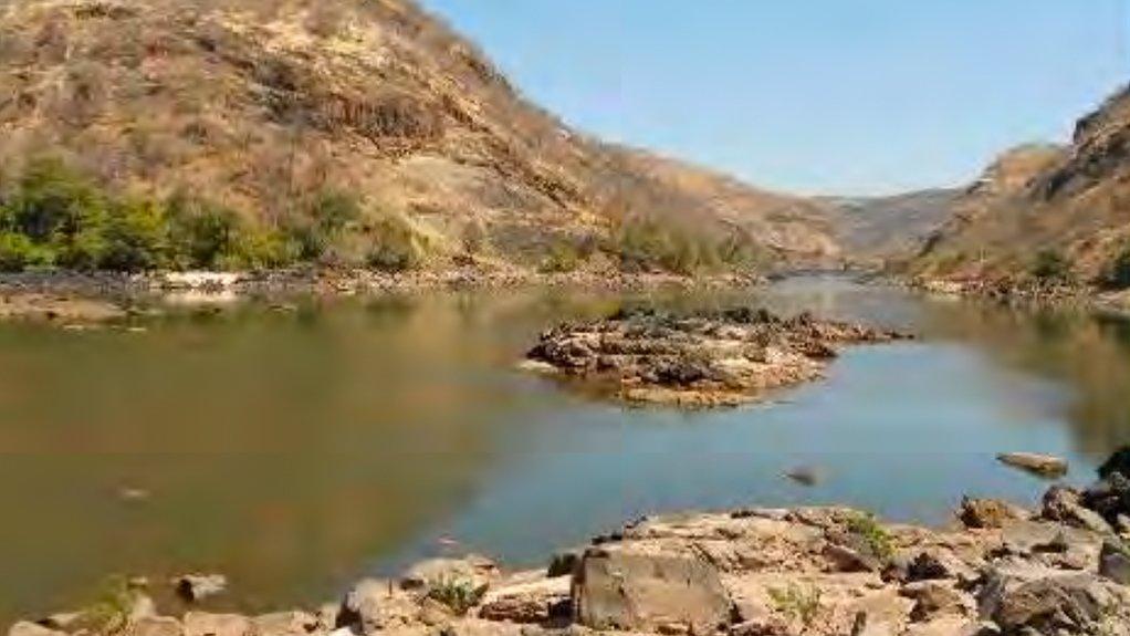 Batoka Gorge Hydro Electric Scheme site