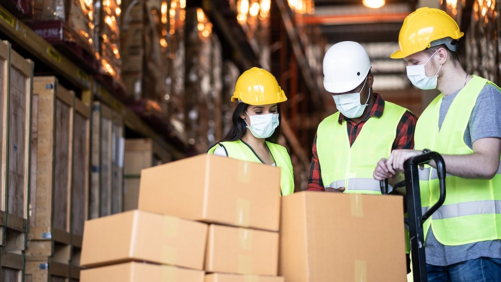 A HEALTHY OUTCOME Covid-19 has put health and safety in the workplace at the top of the agenda