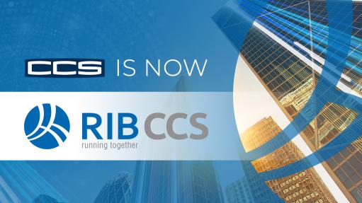 CCS and RIB Software partnership culminates in RIB CCS rebrand