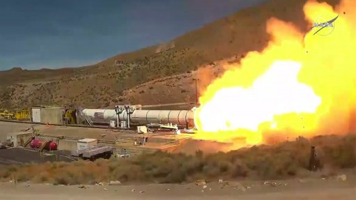 Nasa successfully ground-tested improved rocket booster