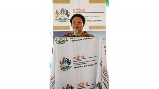 KZN: Nomusa Dube-Ncube, Address by KZN MEC for EDTEA, during a virtual trade Mission involving companies in KZN and the UK (08/09/20)