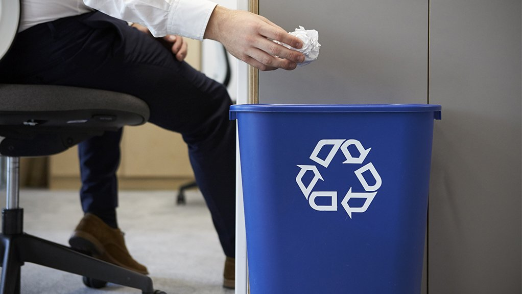 RECYCLING TRENDS South Africa's paper recovery rate for last year is at 68.5% with 1.2-million tonnes of recyclable paper products diverted from landfill