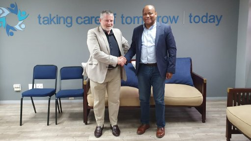 Tennant Group founder and MD Stephen Tennant and chairperson Kuseni Dlamini