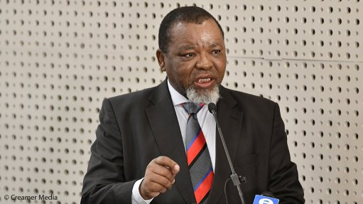 Mantashe says Nersa's concurrence with determination opens way for procurement of 11 813 MW of new power