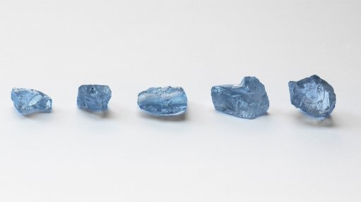 Petra recovers five blue diamonds at Cullinan mine