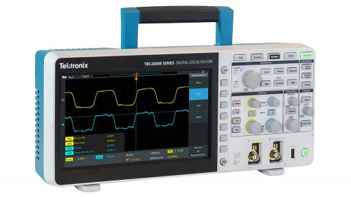 High-spec, low-cost oscilloscope for industry and education