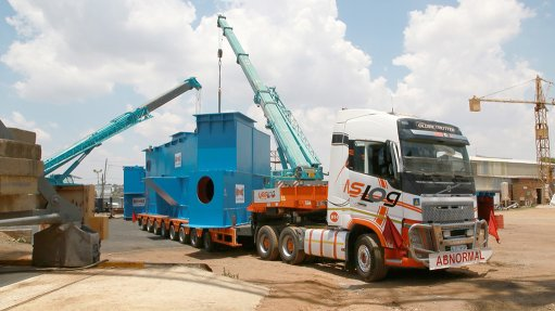 A MOVING PROJECT The semi-mobile crusher plant is a pan-African infrastructure project that required collaboration between African industrial suppliers
