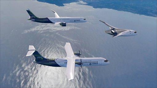 Airbus unveils zero-emissions airliner concept designs